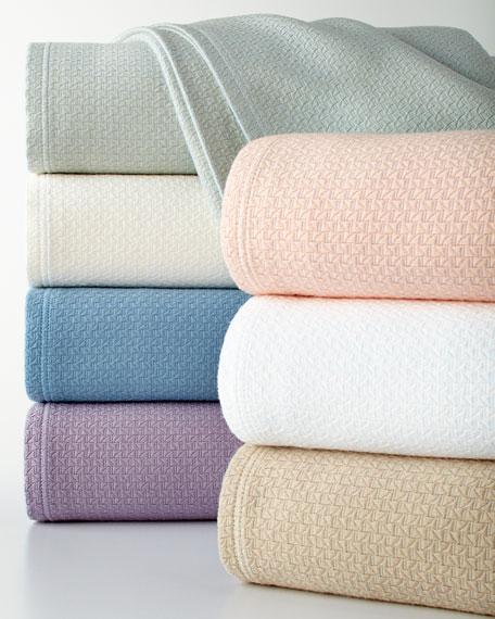 King Basket Weave Blanket
