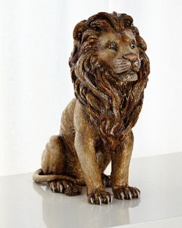 Majestic Lion Figurine