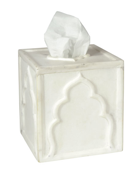 Lotus Tissue Box Cover