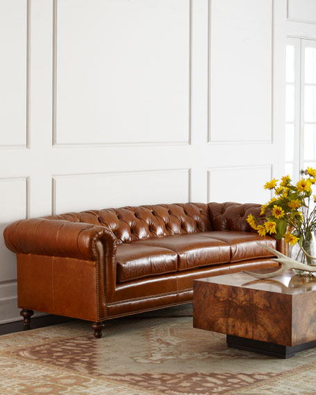 Davidson 69 Two Cushion Chesterfield Sofa
