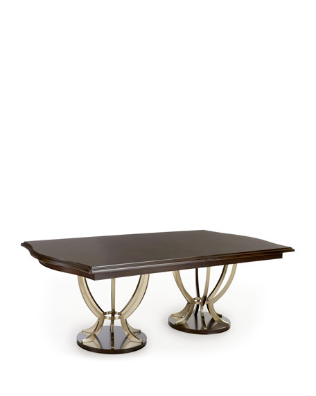 Lambert Double Pedestal Table