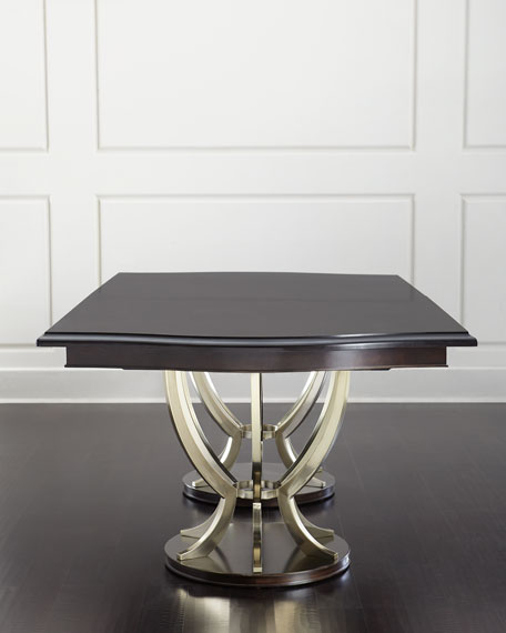 Bernhardt Lambert Double Pedestal Table
