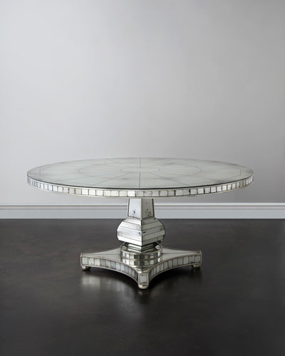 Dining Tables Outdoor GlassTop Dining Table at Neiman Marcus