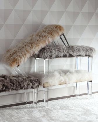 Alala 60L Sheepskin Bench