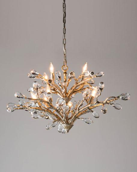 Budding Crystal 10-Light Chandelier