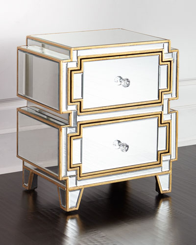Mirrored Furniture  Coffee Tables  Cabinets at Neiman Marcus Horchow