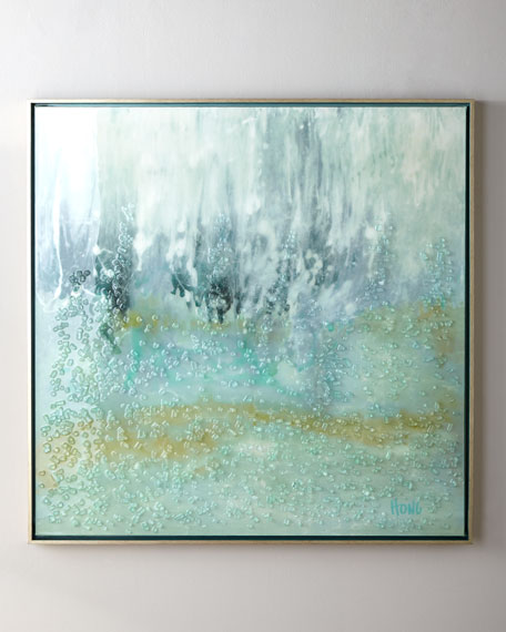"""Wave Break"" Giclee on Canvas Wall Art"
