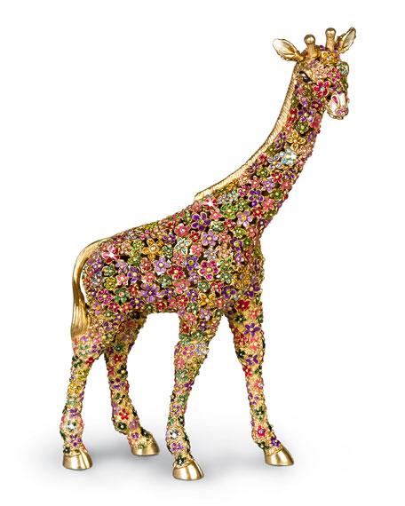 Mille Fiori Giraffe Figurine
