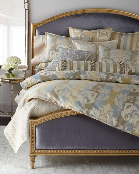 Antoinette King Gilded Bed