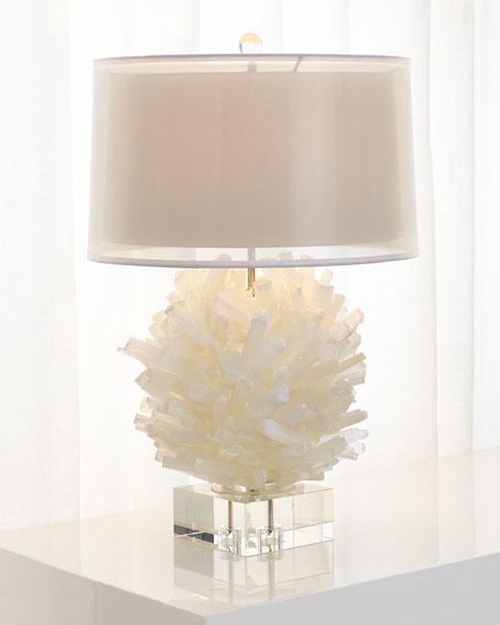 John Richard Collection Selenite Table Lamp