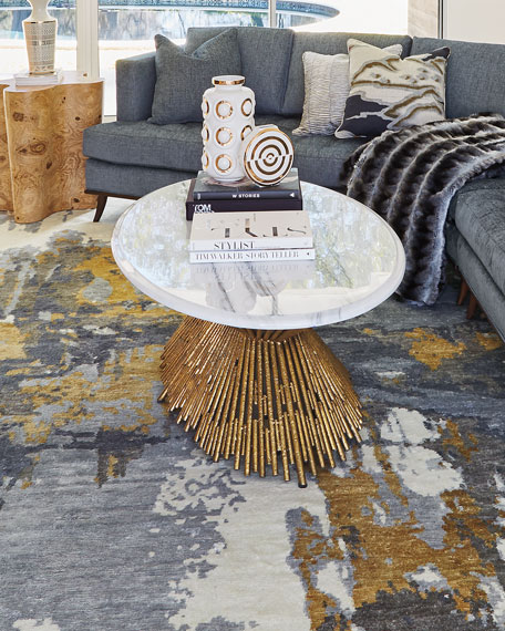 Ambella Sunset Marble Coffee Table