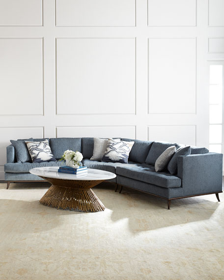 Capri Curved Sectional Sofa
