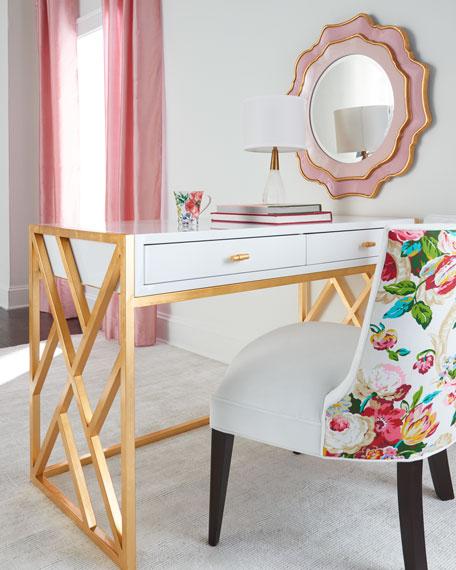 Tiffany Floral Chair