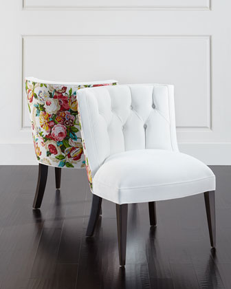 Tiffany Floral Chair