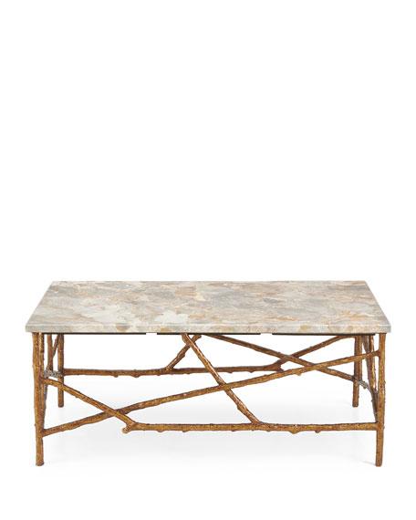 Rye Marble Coffee Table