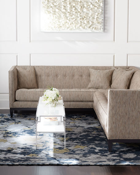 Old Hickory Tannery Oakhurst Right-Arm Corner Sectional