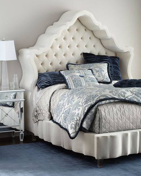Pantages Hooded Queen Bed