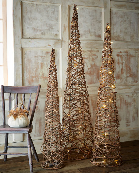 Make A Wire Christmas Tree
