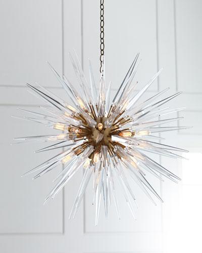 Quincy Medium 20-Light Sputnik Pendant