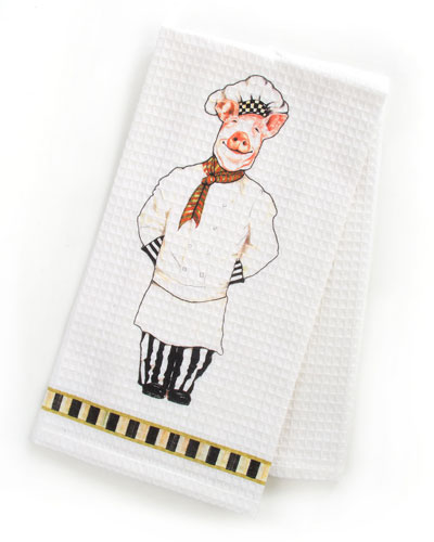 Monsieur Jambon Dish Towel
