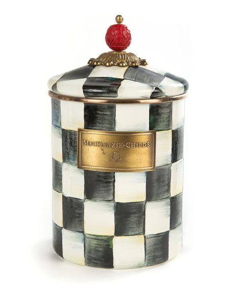 Courtly Check Medium Canister