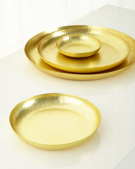 Smooth Decorative Platters, 4-Piece Set