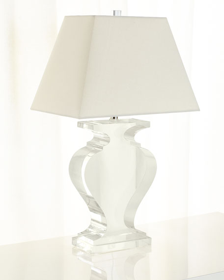 Acrylic Silhouette Table Lamp