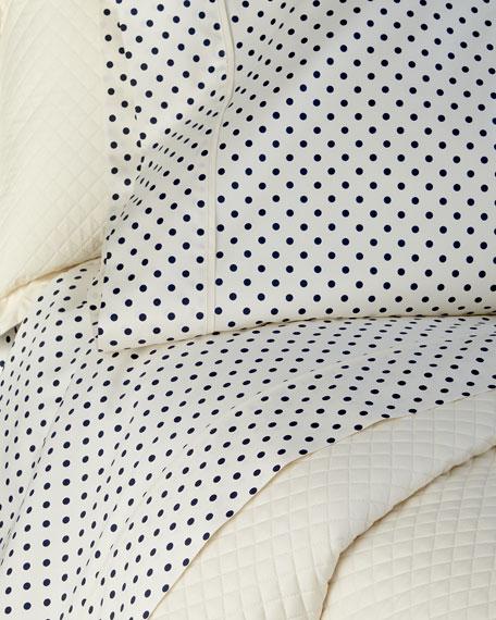 Queen Modern Glamour Charlotte Flat Sheet