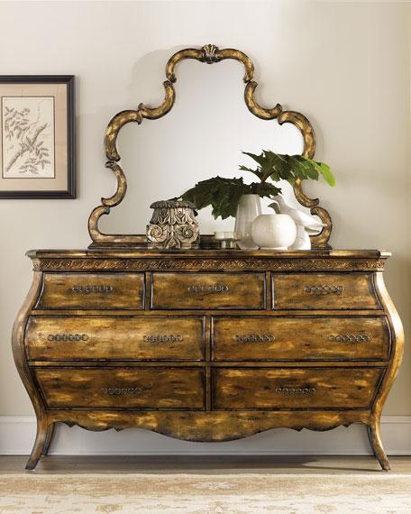 Hooker Furniture Bristol Bombe Dresser
