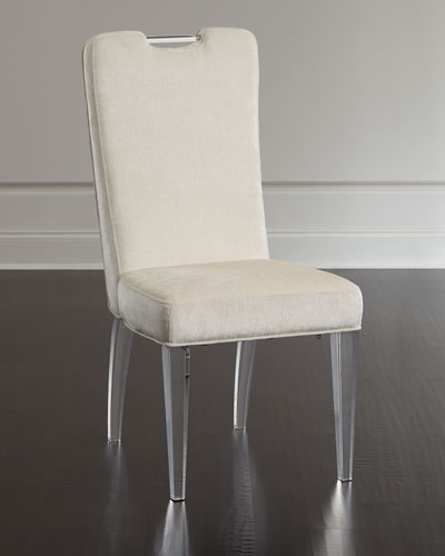 Teaticket Acrylic Dining Chair Set of 2 & Dining Chairs : Leather \u0026 Acrylic Dining Chairs at Neiman Marcus Horchow