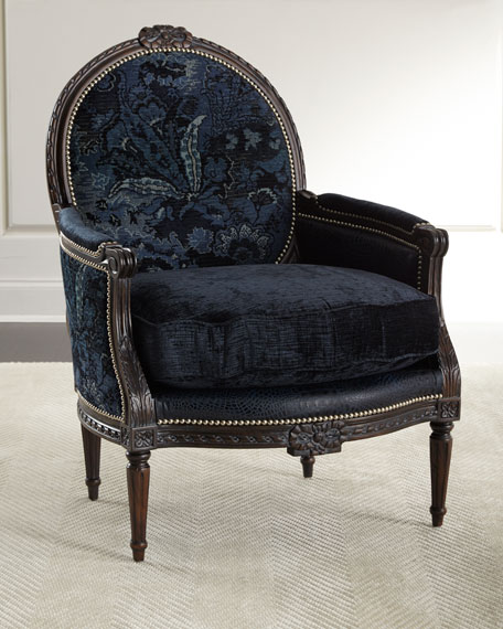 Massoud Jayleen Bergere Chair