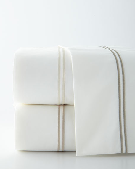 Two Standard 420 Thread Count Alexander Pillowcases