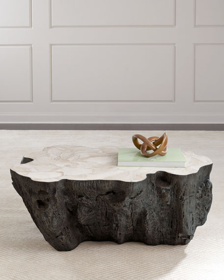 Palecek Ursula Fossilized Clam Coffee Table