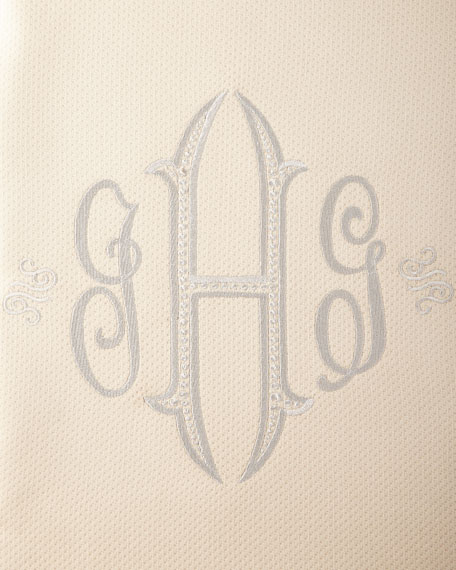 Angelina Shower Curtain, Monogrammed