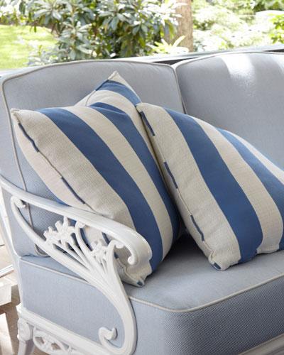 Stripe Outdoor Pillow, 18