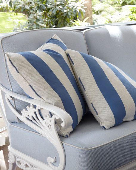 Stripe Outdoor Pillow, 18