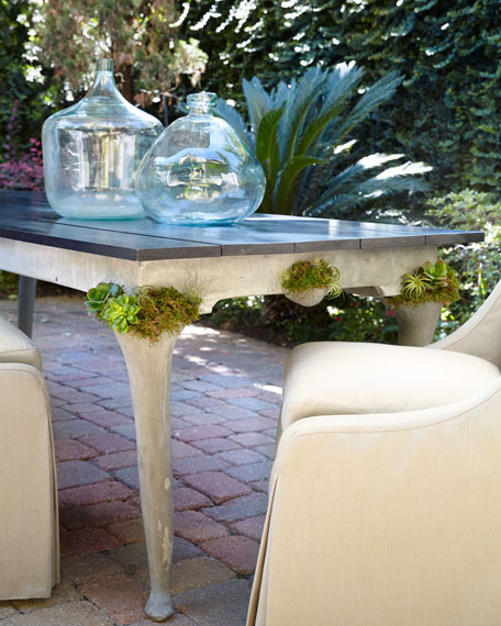 Cedar Wood Outdoor Dining Table