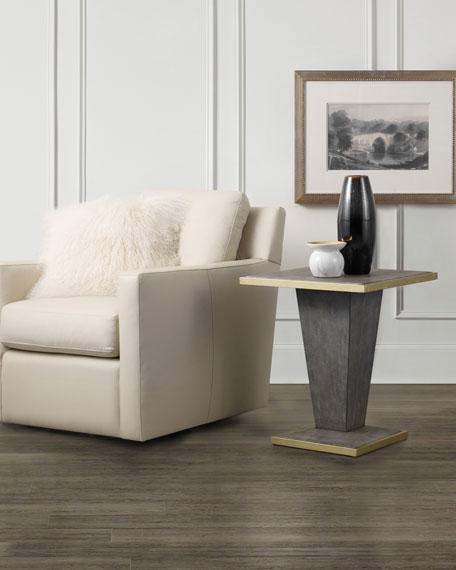 Hooker Furniture Sassy Shagreen End Table