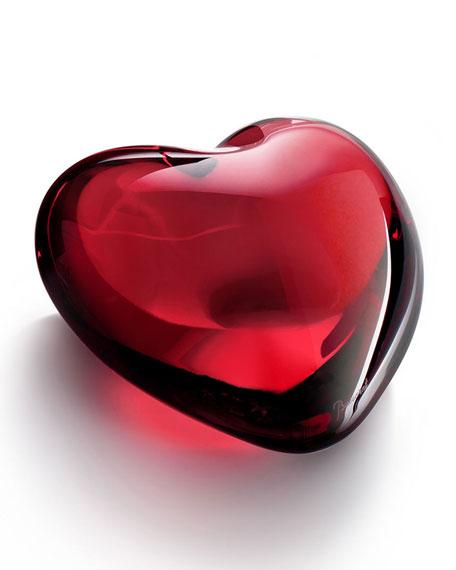 Baccarat Puffed Heart