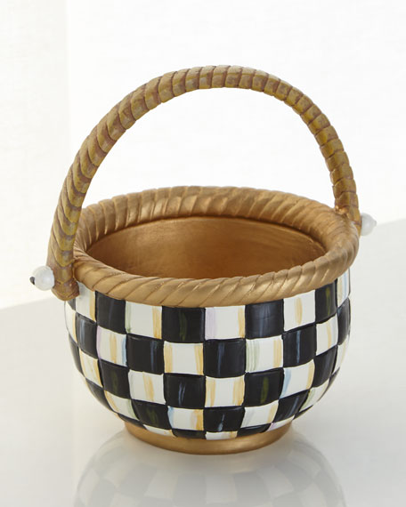 Small Courtly Check Basket