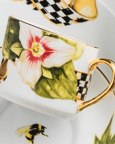 Thistle & Bee Teacup