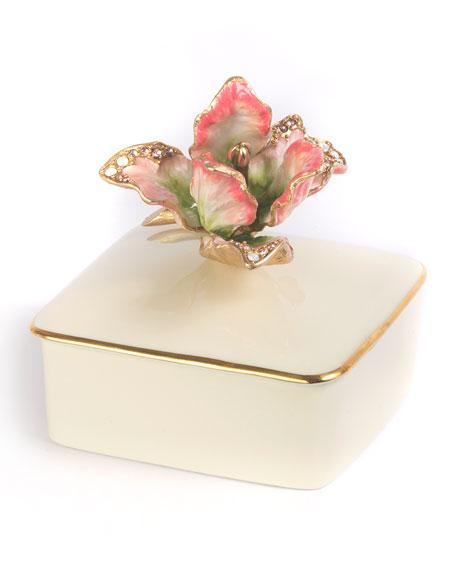 Tulip Porcelain Box