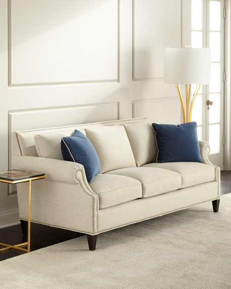 Celia Natural Sofa 82