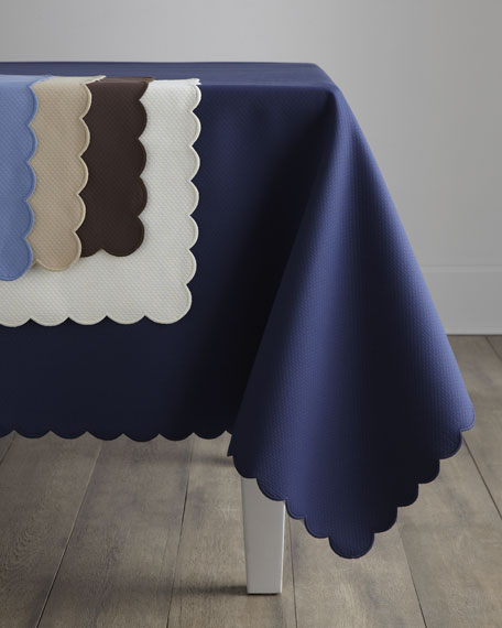 "Savannah Tablecloth, 90"" Round"