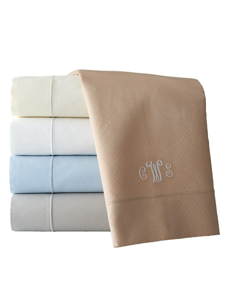 Full Marcus Collection 400 Thread-Count Dot Sheet Set