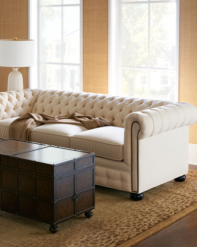 Ellery Chesterfield Queen Sleeper Sofa 86