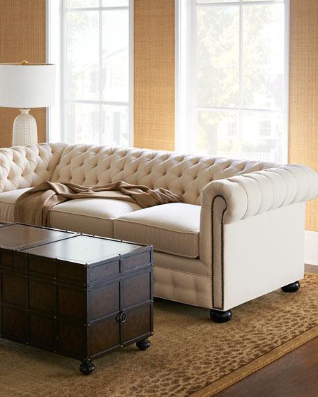 Ellery Chesterfield Queen Sleeper Sofa