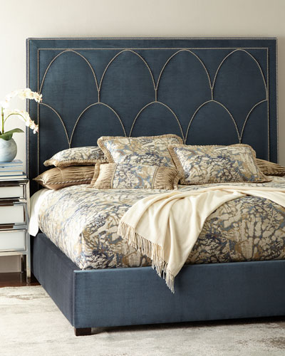 Arista Upholstered King Bed