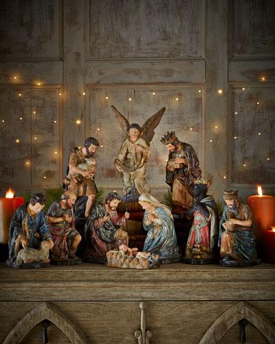 Nativity, 10-Piece Set