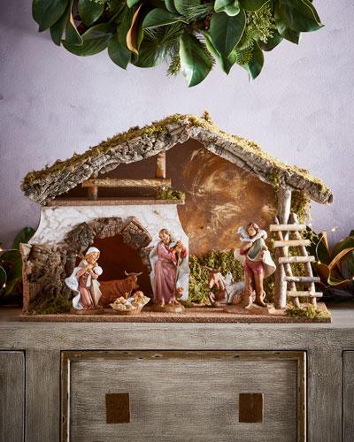 Nativity Stable, 6 Piece